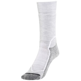 Icebreaker Hike+ Medium Crew Socks Women blizzard hthr/white/oil